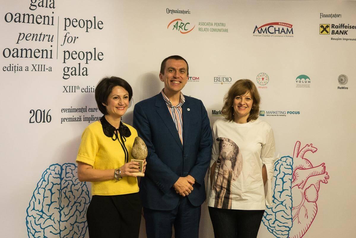 Fapte bune, premiate la Gala Oameni pentru Oameni