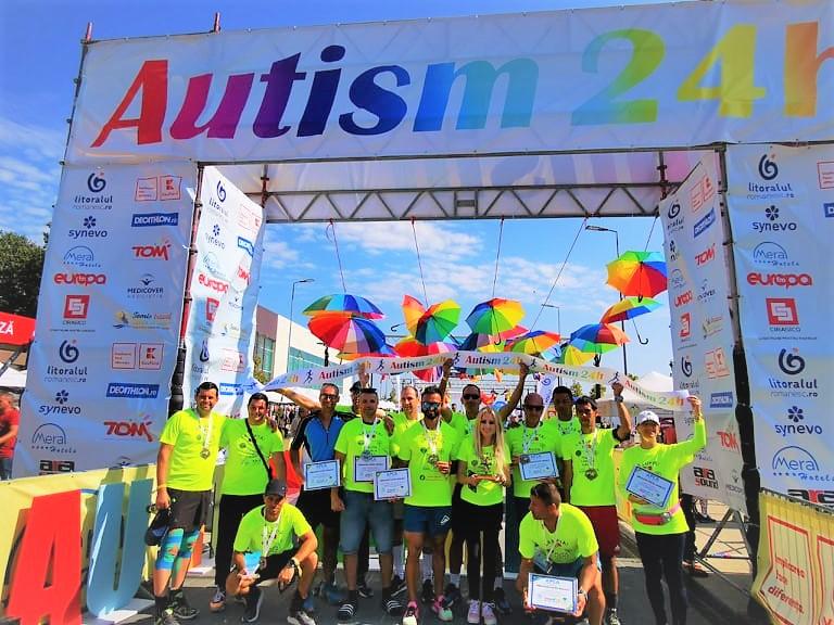 24h de alergare în cadrul Ultramaratonului Autism 24